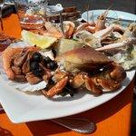 belle assiette de fruits de mer pour 21€!
