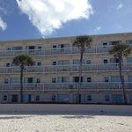 Hotel vista para praia