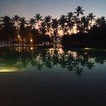 Tramonto piscina Infinity