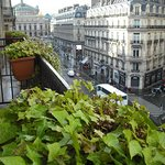 505 balcony with view of Opera Garnier