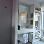bathroom section