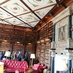 Library, Hatfield House