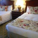 Una habitación amplia, dos camas de 1,40 y muy limpia