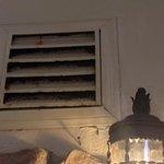 air vent rusts