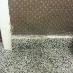 Disgusting Bathroom tiles coming off wall