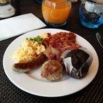 Das leckere Frühstück.