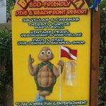 Resort sign