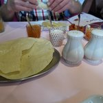 poppadoms and pickle to start