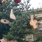 Christmas tree & gingerbread decorations
