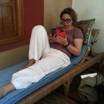 Relax sul piccolo terrazzo privato della nostra seconda stanza