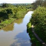The canal towards the new Waitrose, Swindon