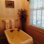 Clawfoot tub for 2