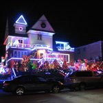 Dyker Heights on Christmas