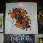 prosciutto & melon appetizer