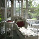 Everything about the screened porch is lovely.