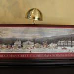 Jigsaw puzzle, Rockwell's Stockbridge Main Street at Christmas