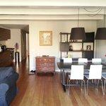 living room/kitchen 1st floor canalside