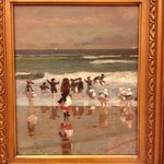 Lovely painting at the Thyssen