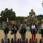 Our morning on Segway tour