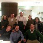 """Foto con Juanjo, el chef y """"director de orquesta"""""""