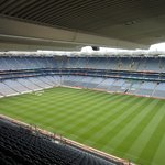 View of the Croke Stadium before taking the stairs to the Skyline