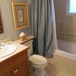 1 BR bath area