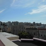 view from roof deck