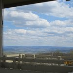 One side of the observation tower. A MUST SEE!
