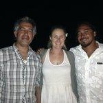 Con Joanna y Tito...un equipo