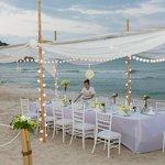 Reception on Beach