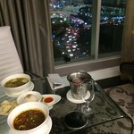 Room service and view