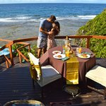 Private breakfast at Lovers Deck