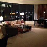 Living Area of the Suite
