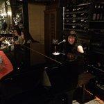 Heather playing piano. Very nice.