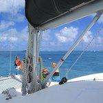 Sailing the Exumas