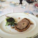Foie gras, black truffle en croute