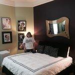Plush bedroom (king sized) in the ELVIS SLEEPS bedroom suite.