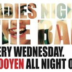 Every Wednesday is Ladies night. ¥2000 for all night drinking!