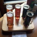 Five-beer sampler