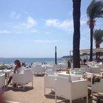 bar da praia, muito relaxante