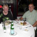 Martine en Luc hebben genoten van het gastronomisch lekkere diner