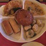 Russian traditional dish, the dumpling similar to China 'Siu Lung Bao'