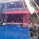 Pool & Restaurant upstairs