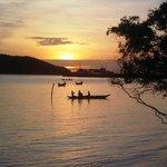 Sunset over Tong Sala