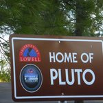 "This is where the Planet ""Pluto"" was discovered"