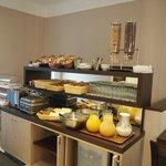 Buffet breakfast, continental style