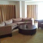 lounge in 2 bedroom suite