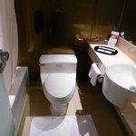清潔感にあふれるトイレ