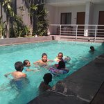 swimming at dlima