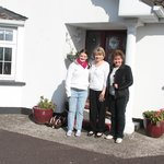 Vicki, Carol and Cathy at Meadow Bank B and B